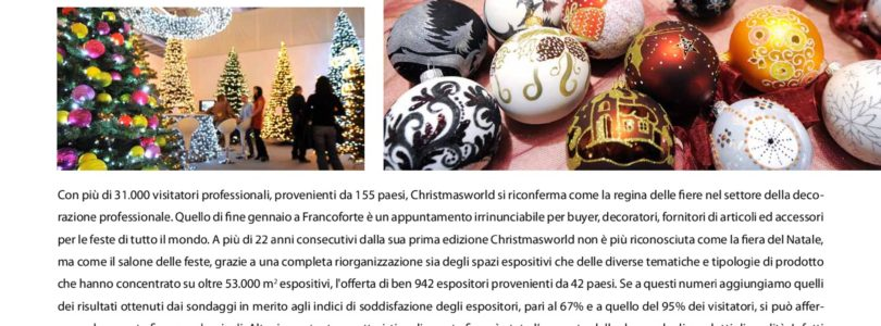 christmasworld report